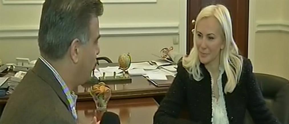 Η αντιπρόεδρος της Κριμαίας μίλησε στον ΑΝΤ1