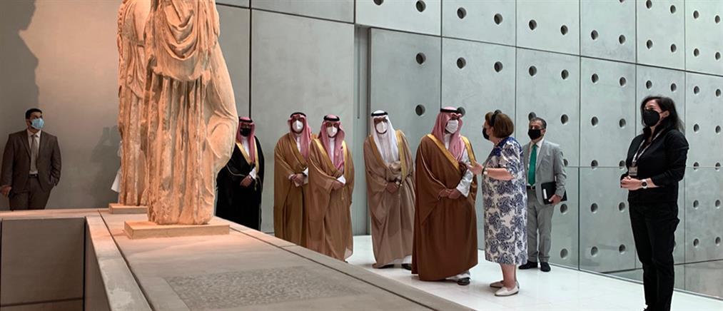Μενδώνη: Ενδυναμώνονται οι πολιτιστικοί δεσμοί μεταξύ Ελλάδας και Σαουδικής Αραβίας (εικόνες)