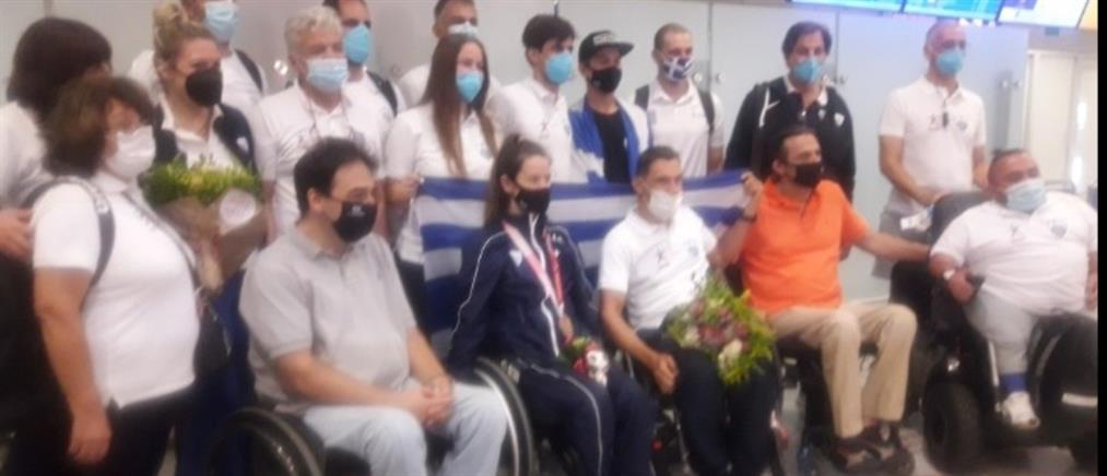 Παραολυμπιακοί Αγώνες: Εντυπωσιακή υποδοχή για τους Έλληνες αθλητές (εικόνες)