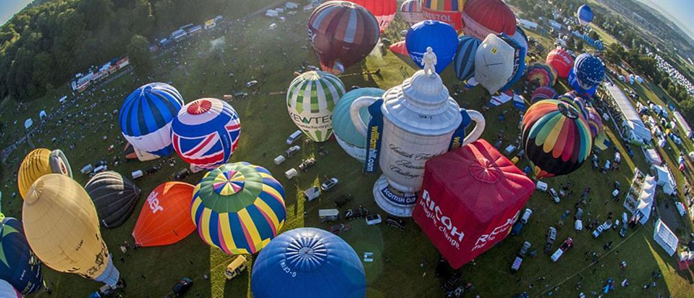 Δεκάδες αερόστατα γέμισαν τον ουρανό (ΦΩΤΟ)