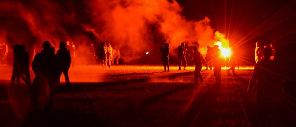 Γαλλία: Τραυματίες στην επιχείρηση διάλυσης ρέιβ πάρτι (εικόνες)