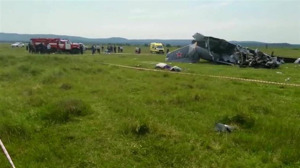 Συντριβή μικρού αεροσκάφους στη Σιβηρία