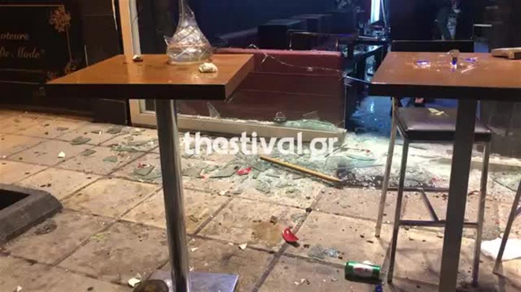 Αιματηρό επεισόδιο σε μπαρ στη Θεσσαλονίκη