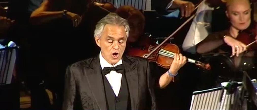 Ο Αντρέα Μποτσέλι στον ΑΝΤ1 για την όπερα, την Ελλάδα και την Ακρόπολη (βίντεο)