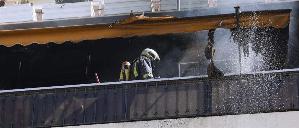 Φωτιά σε διαμέρισμα στην Καλλιθέα