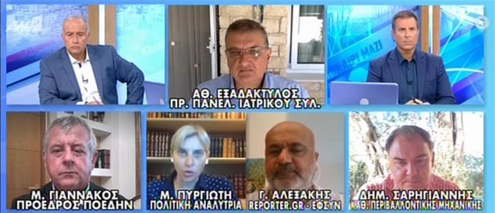 Κορονοϊός - Σαρηγιάννης: Θα φτάσουμε τα 8000 κρούσματα την ημέρα