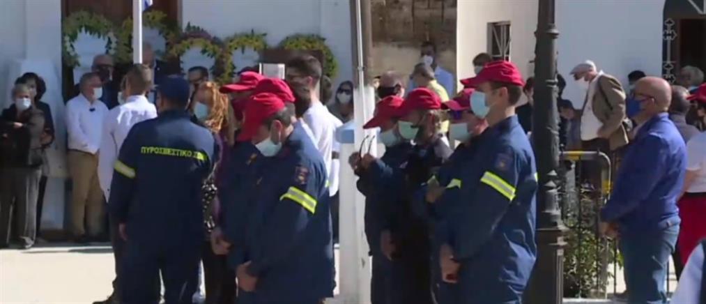 Σεισμός στη Σάμο: Ράγισαν καρδιές στις κηδείες του Άρη και της Κλαίρης
