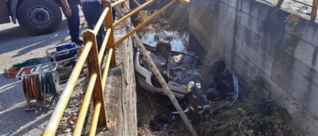 Καβάλα: Ένας νεκρός από πτώση αυτοκινήτου σε αρδευτικό κανάλι