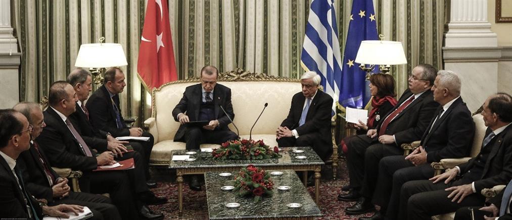 Ο τουρκικός Τύπος για όσα είπαν Ερντογάν και Παυλόπουλος