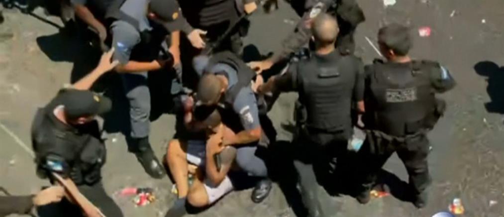 Καρναβάλι Ρίο: το πάρτι κατέληξε σε άγρια επεισόδια (βίντεο)
