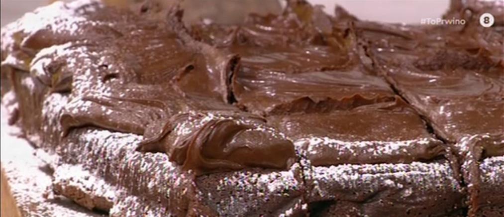 Brownies με δύο σοκολάτες από τον Δημήτρη Μακρυνιώτη