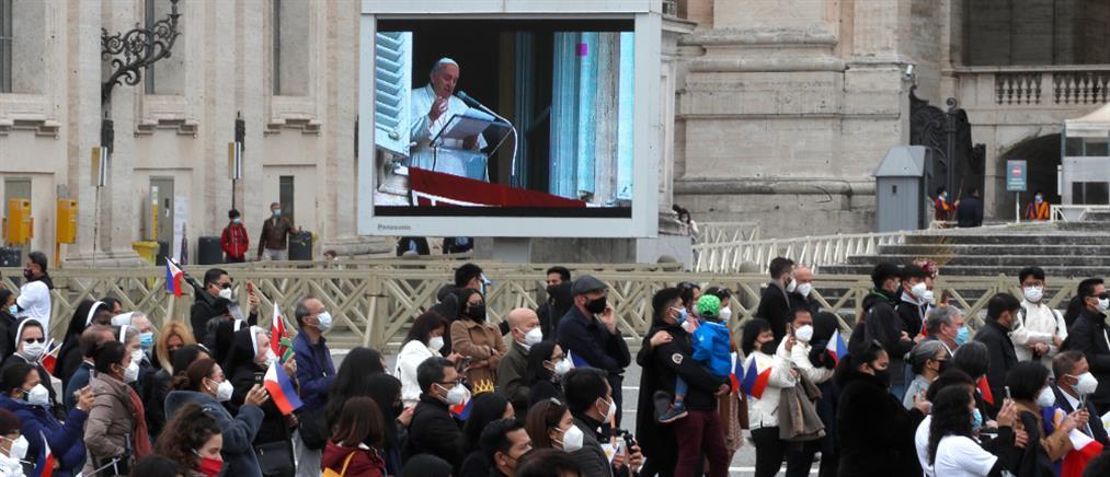 Ο Πάπας Φραγκίσκος κάνει έκκληση για κατάπαυση του πυρός στη Συρία