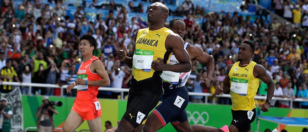 Ο Μπολτ έκανε χατ τρικ στα χρυσά Ολυμπιακά μετάλλια στα 100μ