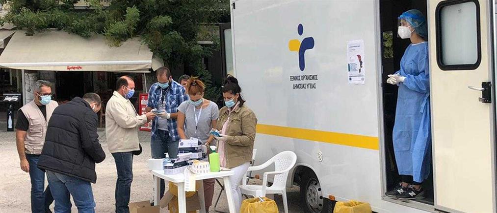 Κορονοϊός: Τι έδειξαν τα 340 rapid test στο Θησείο