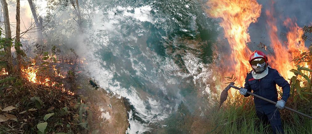 Παγκόσμιος συναγερμός για τις φωτιές στον Αμαζόνιο