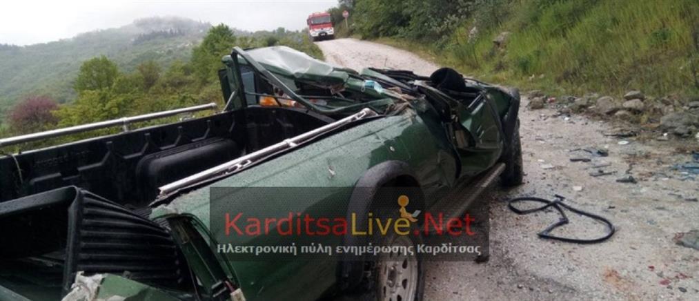 Καρδίτσα: Περαστικός βρήκε νεκρό από τροχαίο