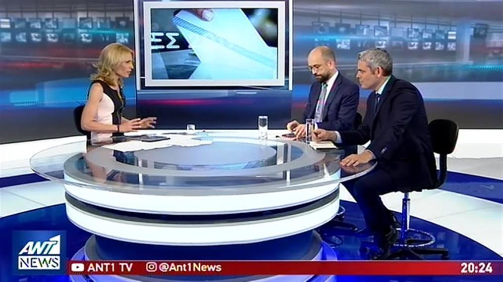 Debate Μπάρκα – Καραγκούνη στον ΑΝΤ1