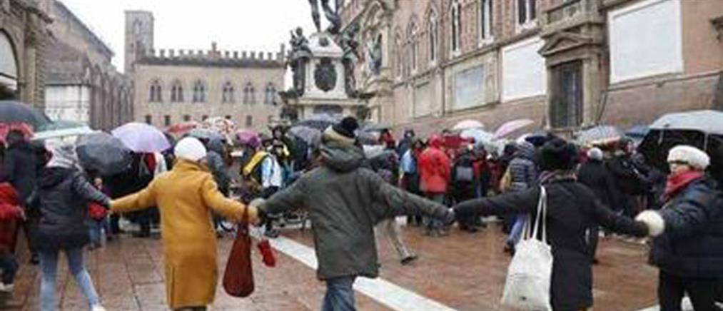 Μαζικές συγκεντρώσεις στην Ιταλία για τον ρατσισμό και την ξενοφοβία