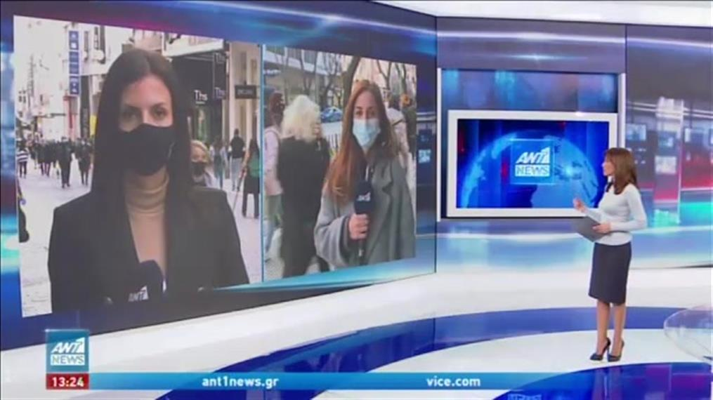 Κορονοϊός: «Πονοκέφαλος» από τον συνωστισμό στην αγορά