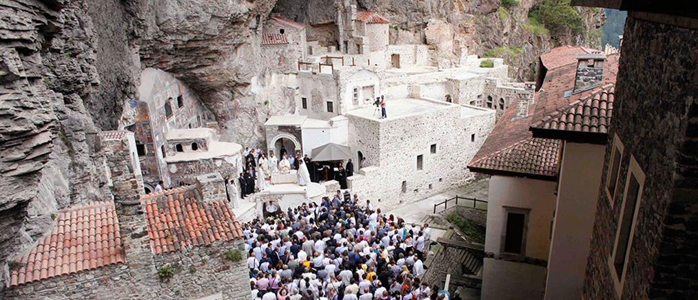 """Τουρκικό """"μπλόκο"""" στην Παναγία Σουμελά"""