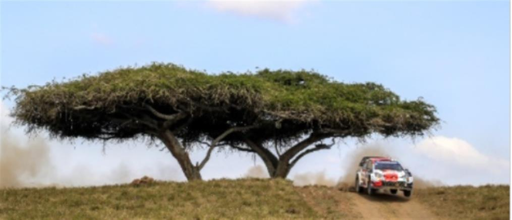 WRC: Πρωτιά Οζιέ στην Κένυα
