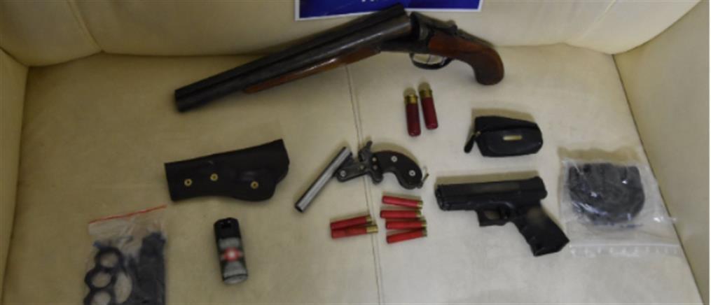 """Το… """"οπλοστάσιο"""" πίσω από το έγκλημα στις Θεσπιές (εικόνες)"""
