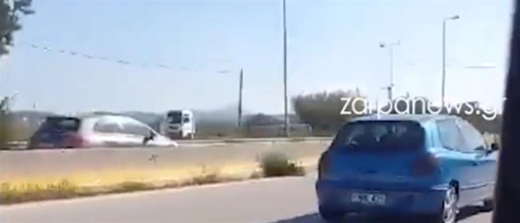 Οδηγούσε ανάποδα στον ΒΟΑΚ (βίντεο)