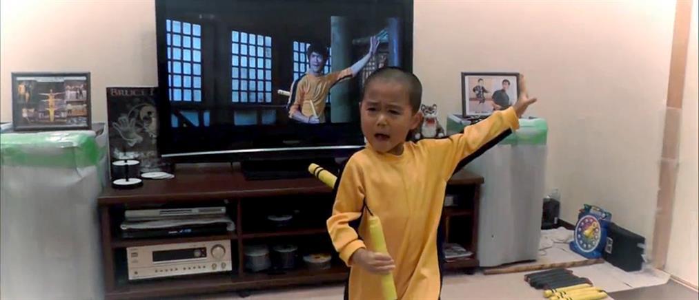 Ένας 5χρονος… ίδιος ο Μπρους Λι!