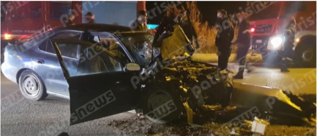 Τροχαίο - σοκ: Νεκρός ένας αστυνομικός (εικόνες)