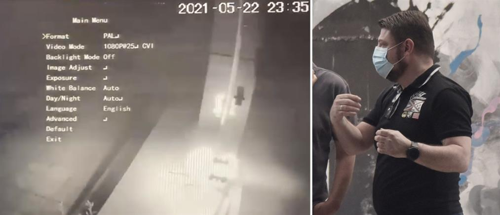 Χαρδαλιάς: Βίντεο από την επίθεση στα καταστήματα της συζύγου του