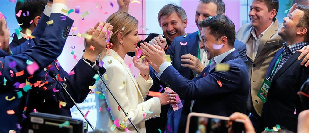 Πρόεδρος της Ουκρανίας ο κωμικός που… τον υποδύθηκε