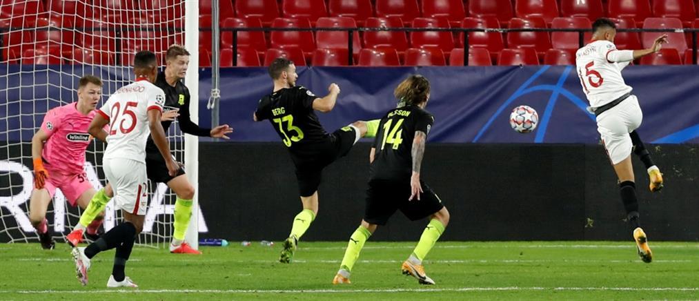 Champions League: Επική ανατροπή από τη Σεβίλλη