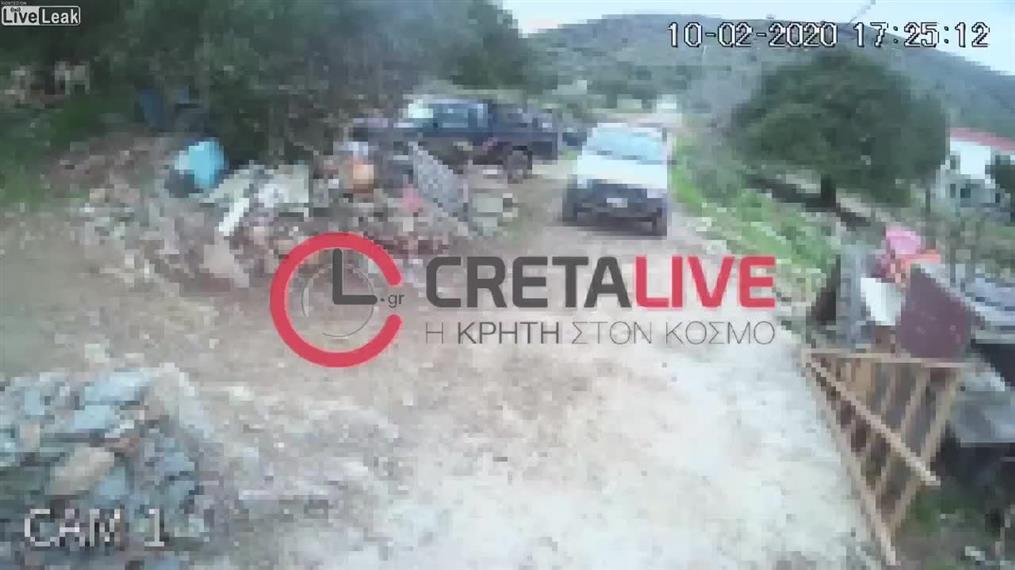 Βίντεο ντοκουμέντο από το φονικό στις Κουρούνες