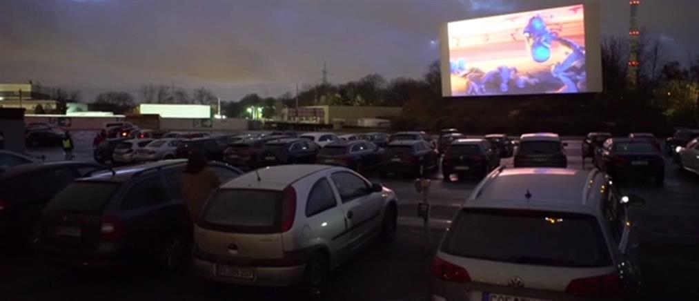 Ο κορονοϊός ξανάνοιξε drive in κινηματογράφους (βίντεο)