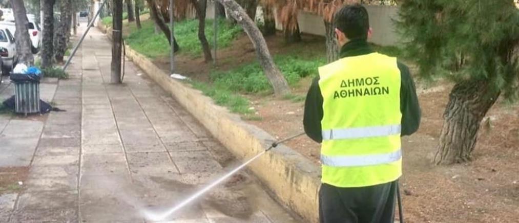Το Παγκράτι και το Δουργούτι καθάρισε ο Δήμος Αθηναίων (εικόνες)