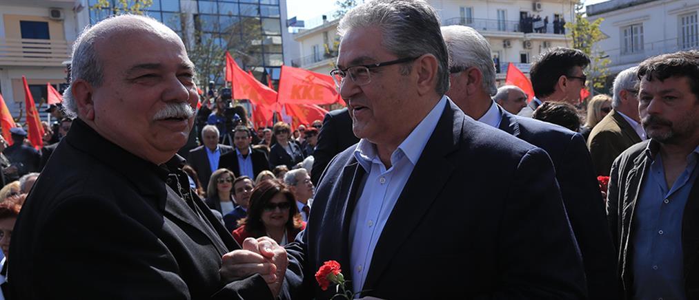"""Κουτσούμπας για Τσίπρα: κάποιοι πλασάρουν τον συμβιβασμό ως """"επανάσταση"""""""