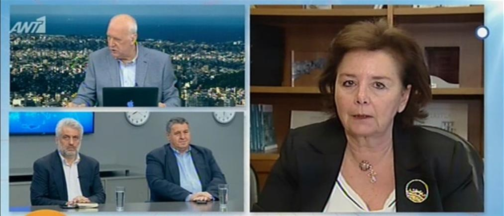 """Μοροπούλου στον ΑΝΤ1: """"Πόλεμος λάσπης"""" από τον ΣΥΡΙΖΑ για την επιλογή μου να είμαι με την ΝΔ"""