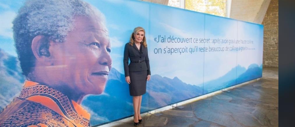 Στην Μαριάννα Βαρδινογιάννη το βραβείο Nelson Mandela (βίντεο)