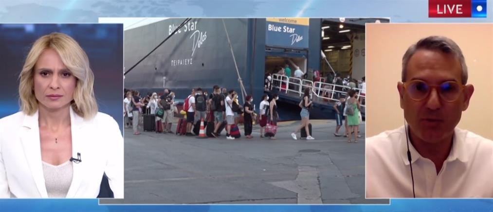 Κορονοϊός - Παρασκευής στον ΑΝΤ1: Ανησυχητική η μεγάλη διασπορά των κρουσμάτων (βίντεο)