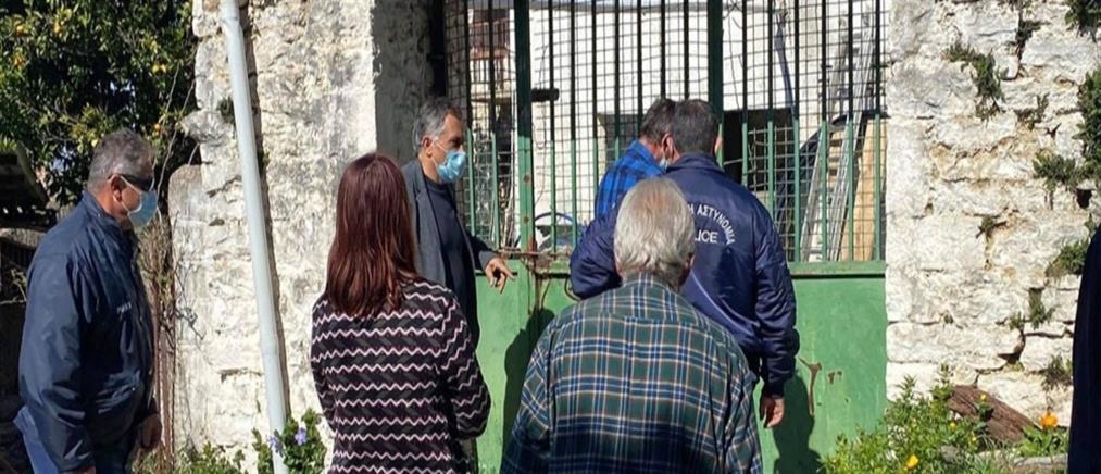Ηλικιωμένη ήταν κλειδωμένη για μέρες σε σπίτι χωρίς ρεύμα! (εικόνες)