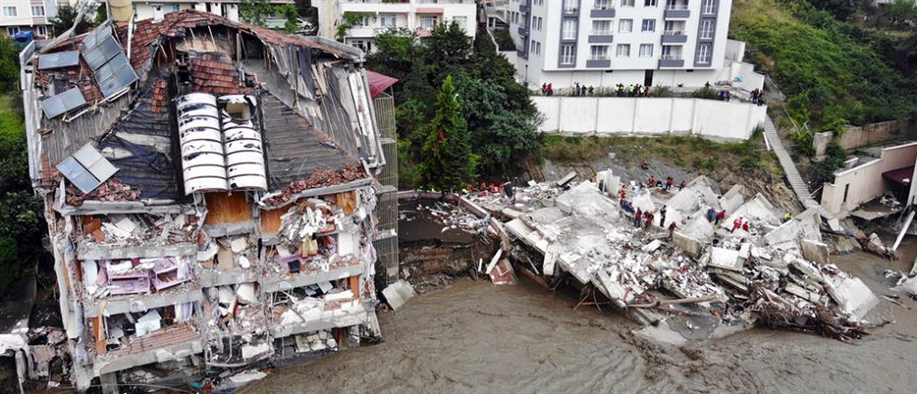 Πλημμύρες στην Τουρκία: νεκροί, αγνοούμενοι και καταστροφές (εικόνες)