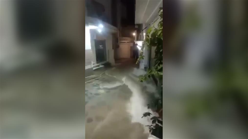 Πλημμύρες στην Σκόπελο