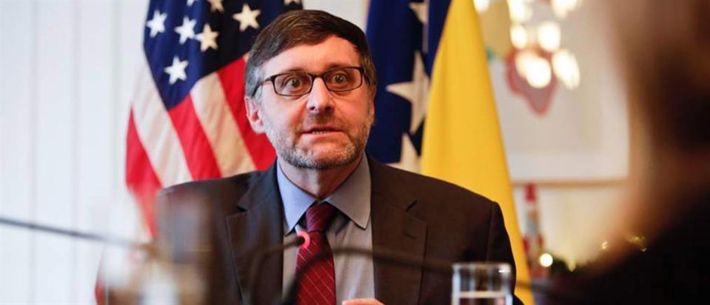 Πάλμερ στον ΑΝΤ1: ΗΠΑ και Ελλάδα ενισχύουν και εμβαθύνουν την συνεργασία τους
