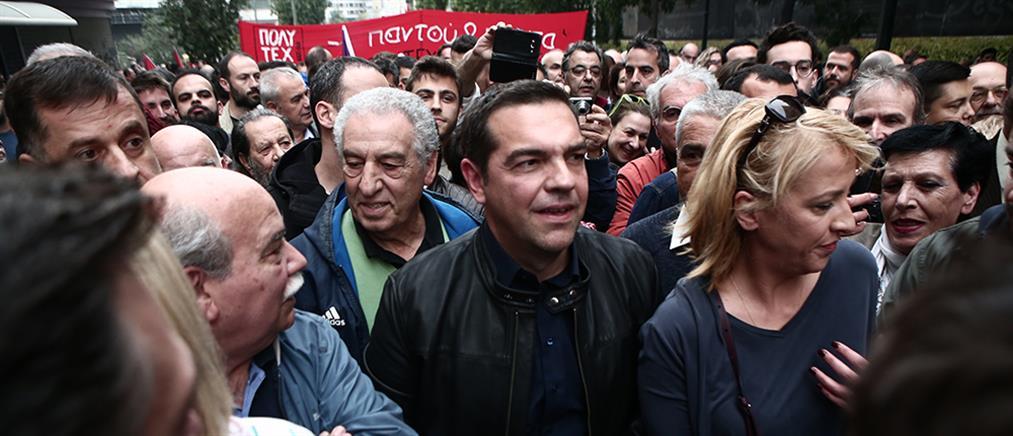 ΣΥΡΙΖΑ για απαγόρευση συναθροίσεων: στήνουν σκηνικό έντασης με αφορμή το Πολυτεχνείο