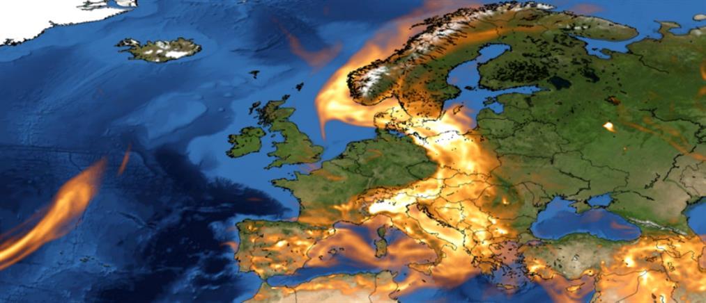 Που οφείλεται ο καύσωνας στη Σιβηρία