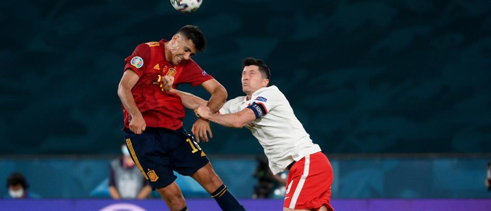 Euro 2020: Ισόπαλες Ισπανία – Πολωνία (εικόνες)