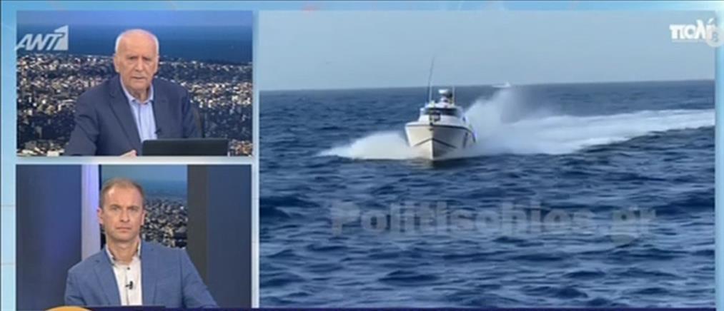 Ψαράς από τη Χίο στον ΑΝΤ1: δύσκολη η χθεσινή παρενόχληση από την Τουρκία (βίντεο)
