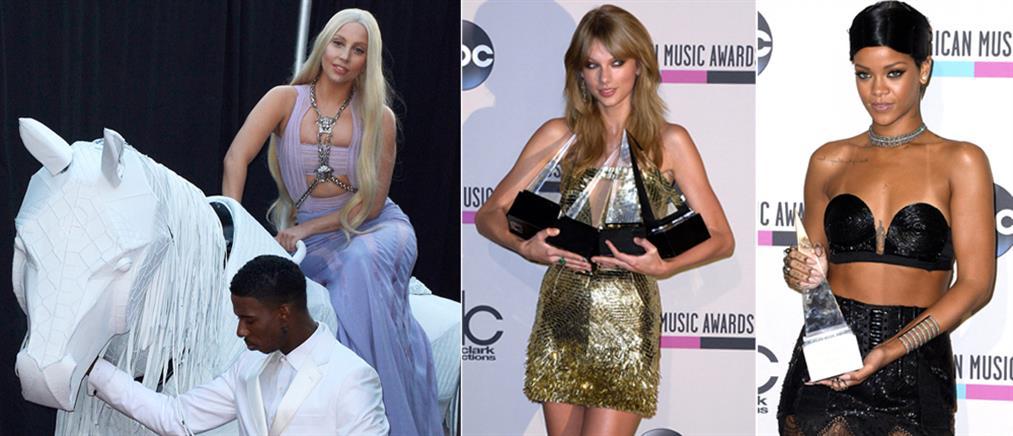 Η Τέιλορ Σουίφτ σάρωσε τα American Music Awards