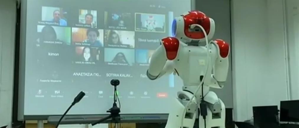 Ρομπότ καθηγητής στο Πανεπιστήμιο Μακεδονίας (βίντεο)