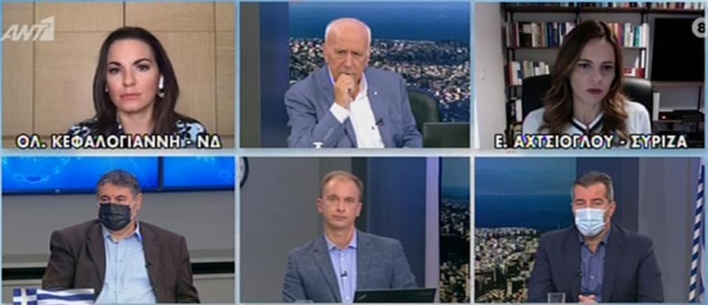 Κεφαλογιάννη - Αχτσιόγλου στον ΑΝΤ1 για τον κορονοϊό (βίντεο)